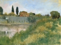 SOLD On the Arno 12x16 Oil by Rebecca King