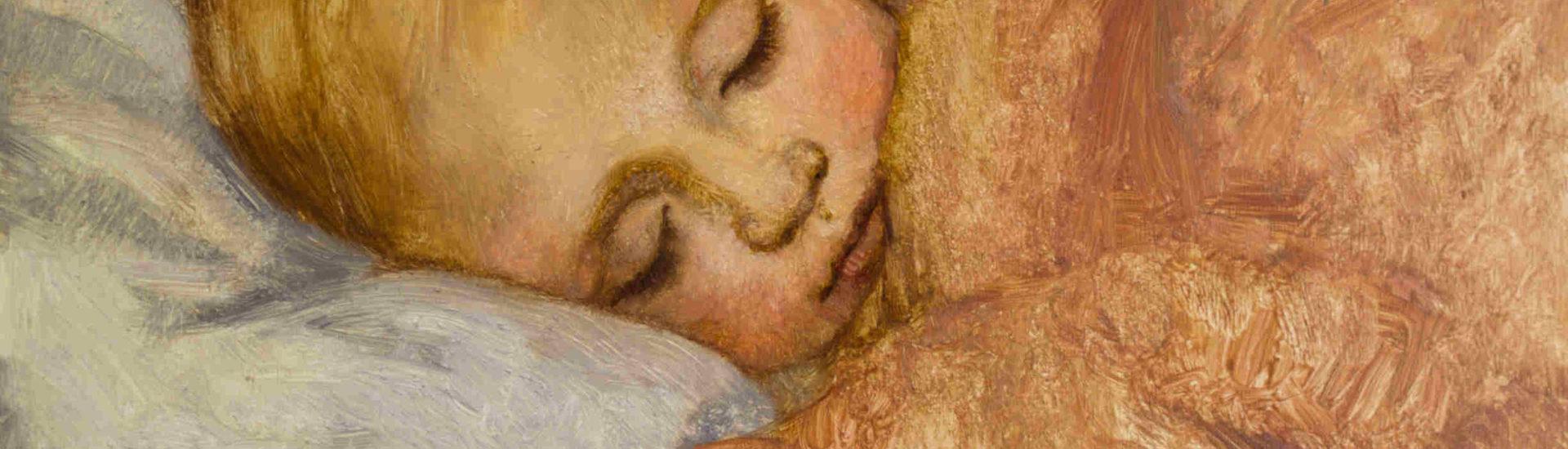 Ayla Asleep Oil on Panel 8x10