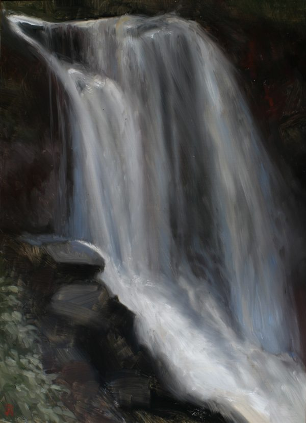 Dry Falls 16x21 Oil on Panel by Rebecca King Hawkinson