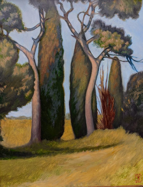 Natural Order 11x14 Oil on Panel Rebecca King Hawkinson $1800