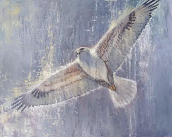 Pitch Oil on Canvas 24x30 Rebecca King Hawkinson
