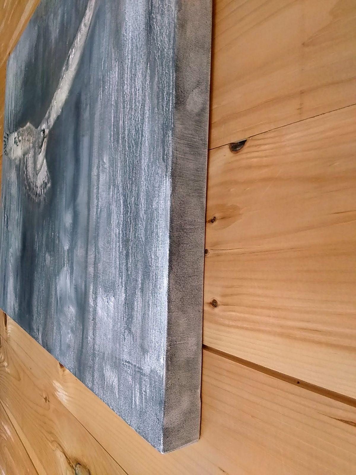 Sneak Detail 6 Oil on Canvas 24x30 Rebecca King Hawkinson