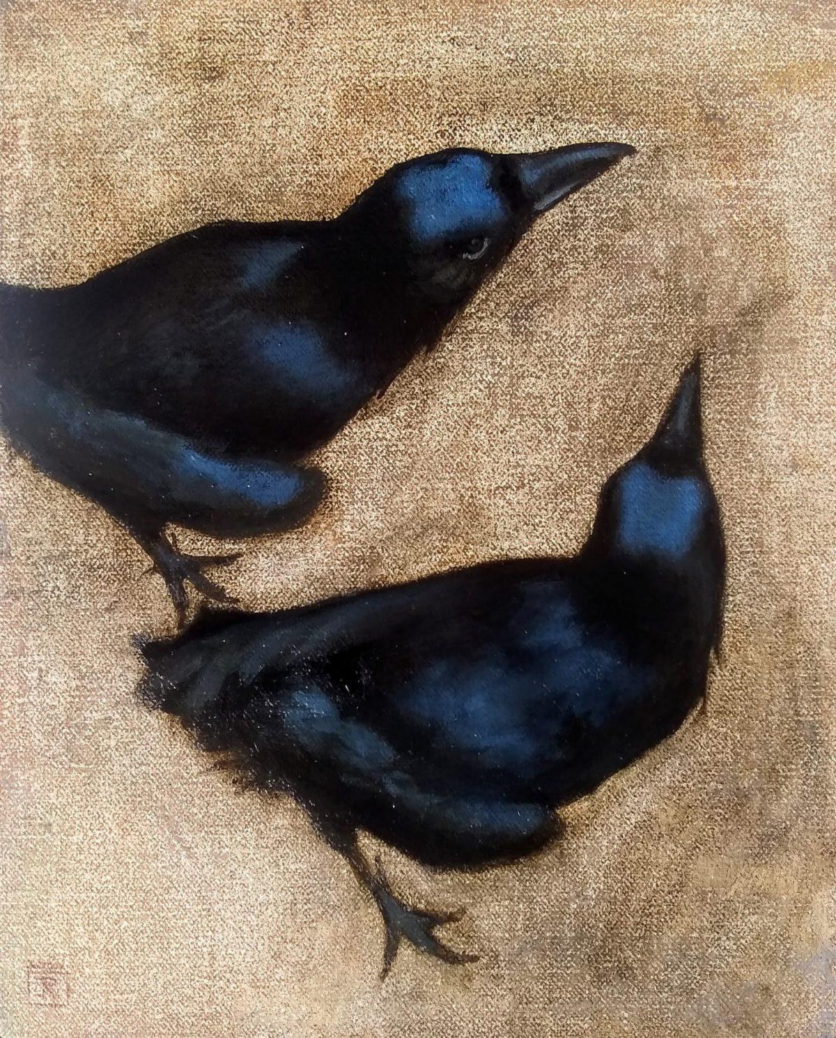 Twa Corbies, Rebecca King Hawkinson