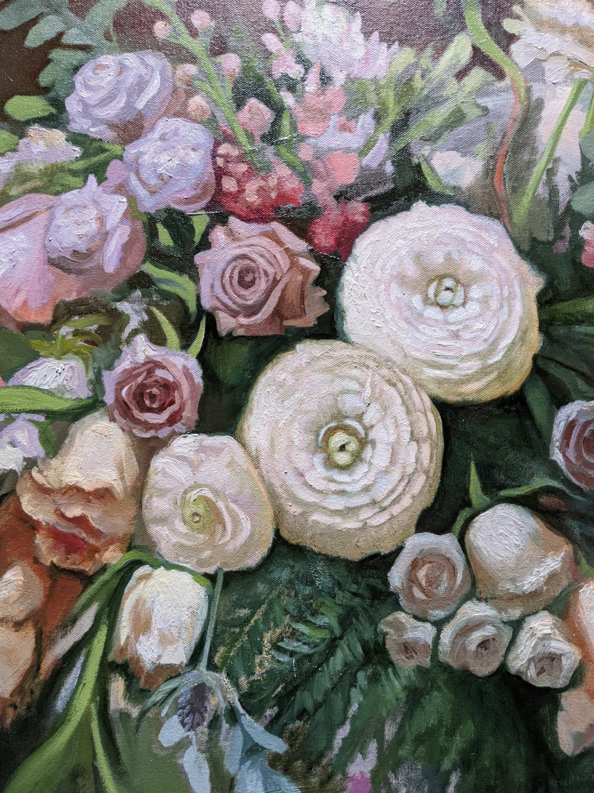 Arrangement-in-White-Oil-on-Canvas-24x30-Artist-Rebecca-King-Hawkinson-3600-sold-detail-3