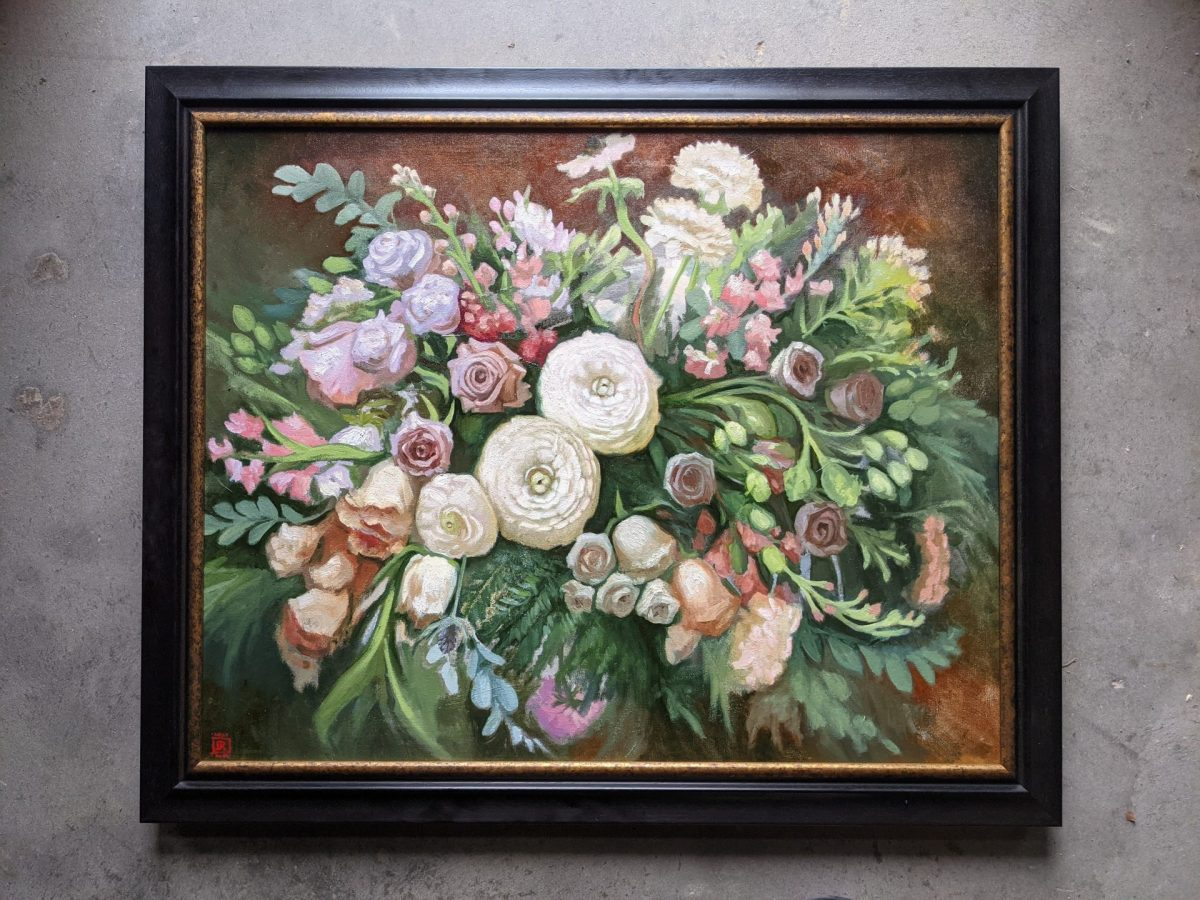 Arrangement-in-White-Oil-on-Canvas-24x30-Artist-Rebecca-King-Hawkinson-3600-sold-framed